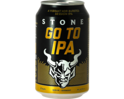 Bottled beer - Stone Go to IPA