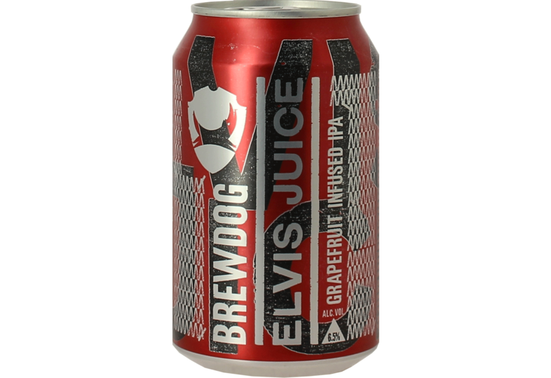 Bottled beer - Brewdog Elvis Juice - 33cl can