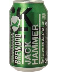 Flessen - Brewdog Jack Hammer - Blik
