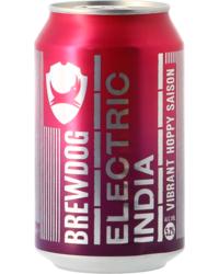 Flessen - Brewdog Electric India Blik