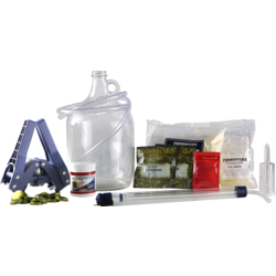 All-Grain Beer Kit - Brewing Kit American Wheat extract + grains 1 gal (3,8 L)