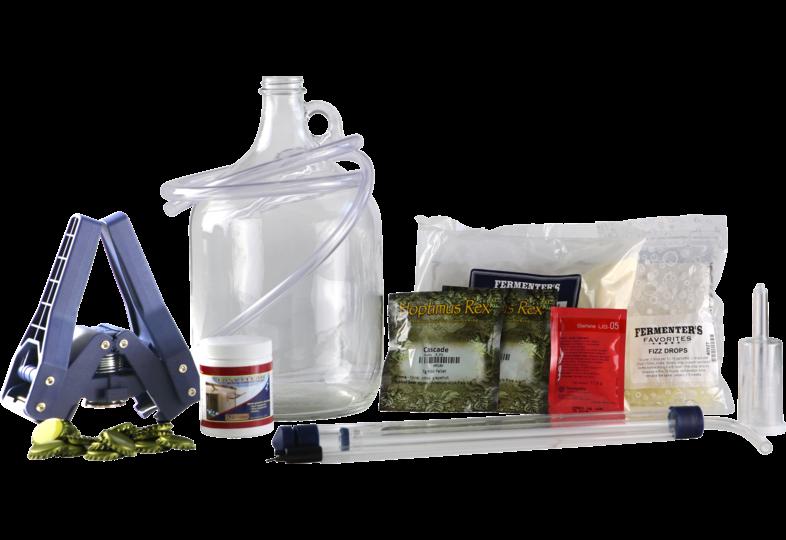 Moutpakket - Kit de brassage American Wheat extrait + grains 1 gal (3,8 L)
