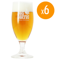 Beer glasses - Dois Corvos Glasses - 25 cl