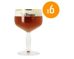 Ölglas - Pack de 6 verres La Trappe