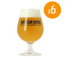 Ölglas - Pack de 6 verres Saveur Bière - 25 cl