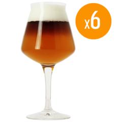 Verres à bière - Pack de 6 Verres Teku Birra Del Borgo - 25 cl