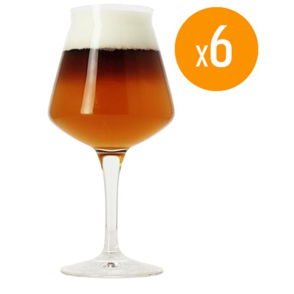 Pack de 6 verres Teku Birra Del Borgo - 25 cl