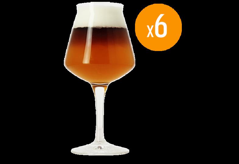 Bierglazen - Birra Del Borgo Bierglas - 6 x 25 cl
