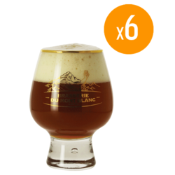 Beer glasses - Pack de 6 verres Mont blanc