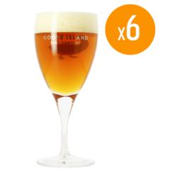 Bicchieri - Pack de 6 bicchieri Goose Island Brewing - 33 cl