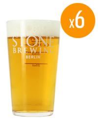 Beer glasses - Pack de 6 Verres Stone - 50 cl