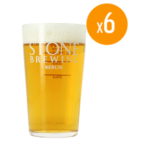 Pack de 6 Verres Stone - 50 cl
