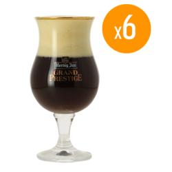 Beer glasses - Pack de 6 Verres Hertog Jan Grand Prestige - 25 cl