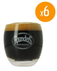 Biergläser - Pack de 6 Verres Founders - 25 cl