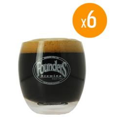 Verres à bière - Pack de 6 Verres Founders - 25 cl