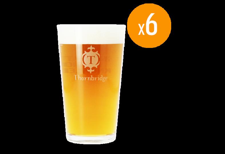 Verres à bière - Pack de 6 Verres Thornbridge - 25 cl