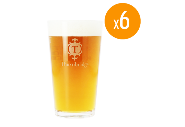 Bicchieri - Pack de 6 verres Thornbridge - 25 cl