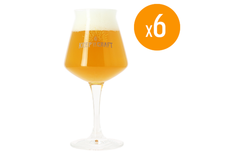 Ölglas - Pack de 6 verres Teku keep it Craft - 25 cl