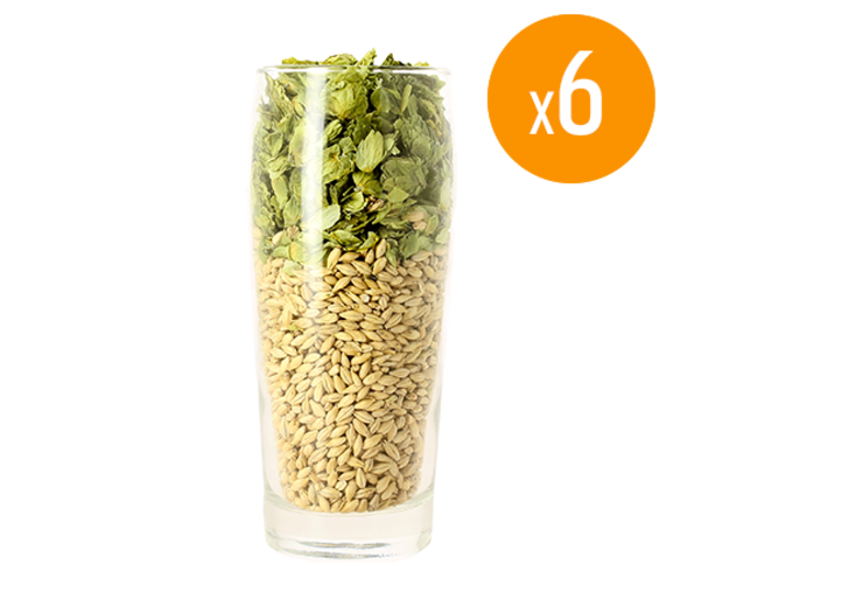 Bicchiere - Pack de 6 bicchieri neutri Willi - 50 cl