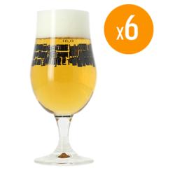Ölglas - Pack de 6 verres Munique Basqueland Brewing - 33 cl