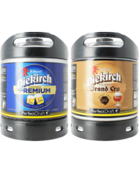 Vaten - Diekirch Premium & Grand Cru PerfectDraft Tapvaatje - 2-Pack