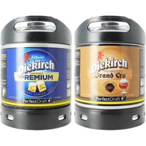 Diekirch Premium & Grand Cru PerfectDraft Tapvaatje - 2-Pack