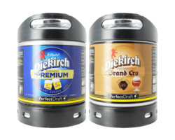 Bier Tapvatjes - Diekirch Premium & Grand Cru PerfectDraft Tapvaatje - 2-Pack