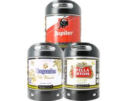 Fusti di birra - Hoegaarden, Stella & Jupiler PerfectDraft - 3-Pack
