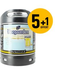 Fûts de bière - Pack 5 fûts 6L de Hoegaarden + 1 Offert