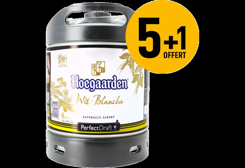 Kegs - Hoegaarden PerfectDraft 6-liter Keg - 5+1 FREE!