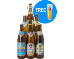 Bier packs - Oktoberfest Pack - 6x50cl + Gratis Glas