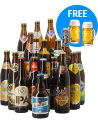 Bier packs - Oktoberfest Pack XL - 18 flessen + 2 glazen