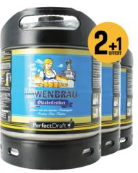 Fässer - Löwenbräu Oktoberfestbier PerfectDraft Fass - 3-pack