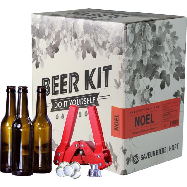 Beer Kit complet, je brasse une bière de Noël