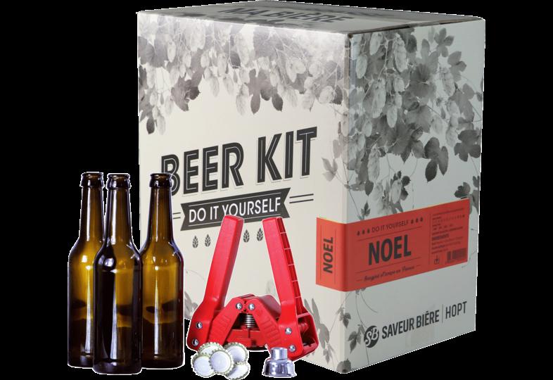 Nouveauté - Beer Kit complet, je brasse une bière de Noël