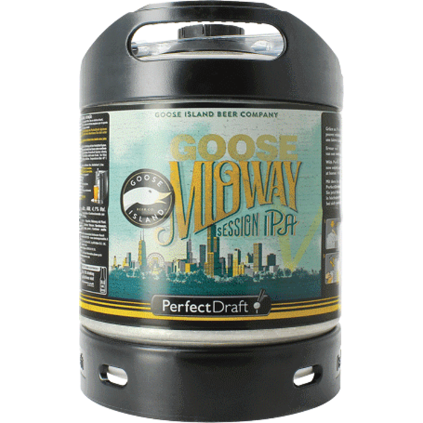 Goose Island Midway Session IPA - 6 litre PerfectDraft Keg