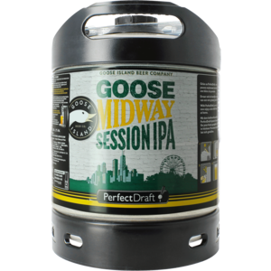 Goose Midway Session IPA PerfectDraft 6-litre Fass