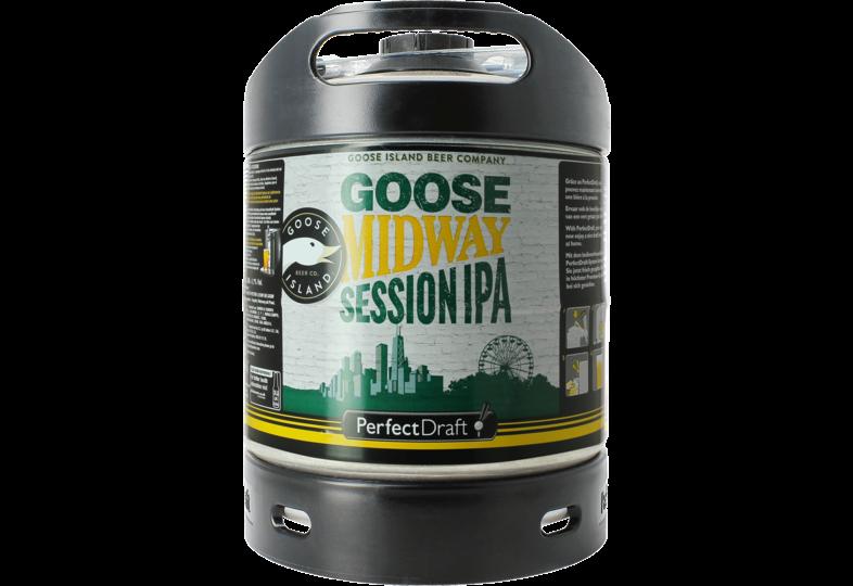 Fûts de bière - Fût 6L Goose Midway Session IPA