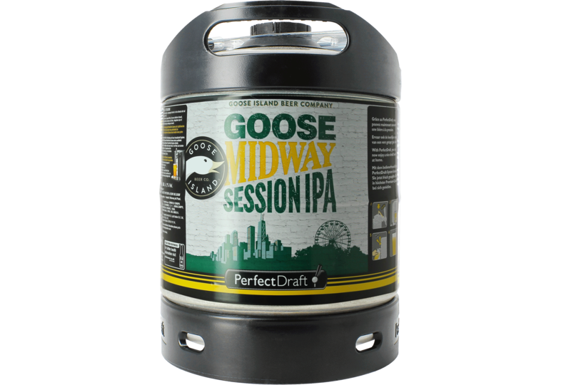 Bier Tapvatjes - Goose Midway Session IPA PerfectDraft 6L Vat