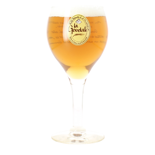 La Goudale beer glass - 25 cl