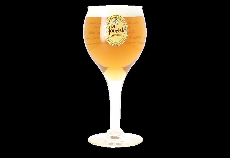 Beer glasses - La Goudale beer glass - 25 cl