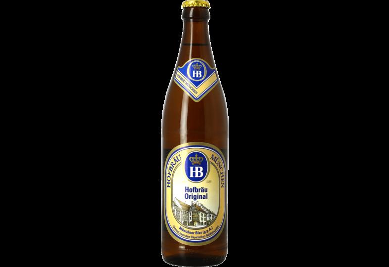 Bottled beer - Hofbräu München Original