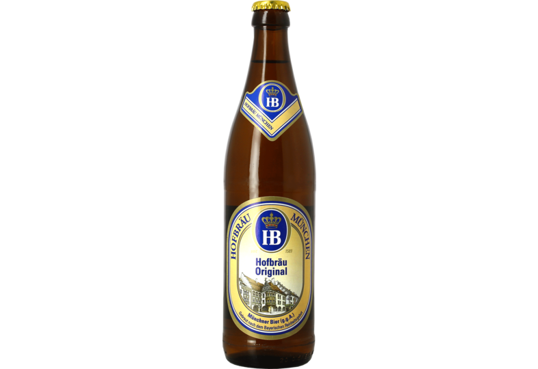 Flessen - Hofbräu München Original