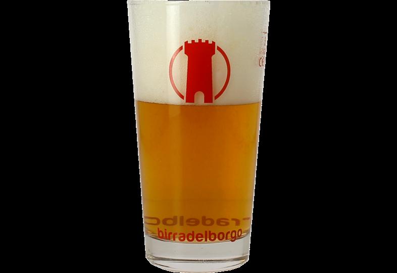 Verres à bière - Verre plat Birra Del Borgo - 33 cl