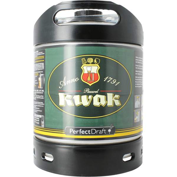 Kwak PerfectDraft 6-litre keg