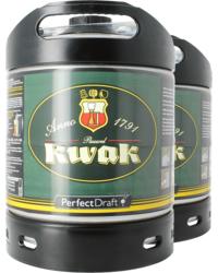 Fûts de bière - Pack 2 fûts 6L Kwak