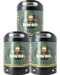 Fûts de bière - Pack 3 fûts 6L Kwak