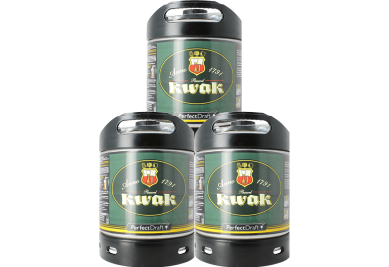 Fusti di birra - Fusto Kwak PerfectDraft 6-litri - 3-Pack