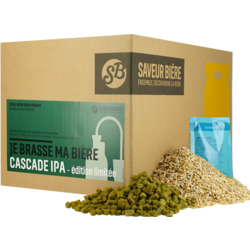Kits de recettes 4L - Recharge Beer Kit Cascade IPA - EDITION LIMITEE