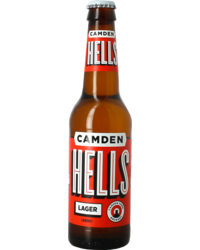 Bottled beer - Camden Hells Lager